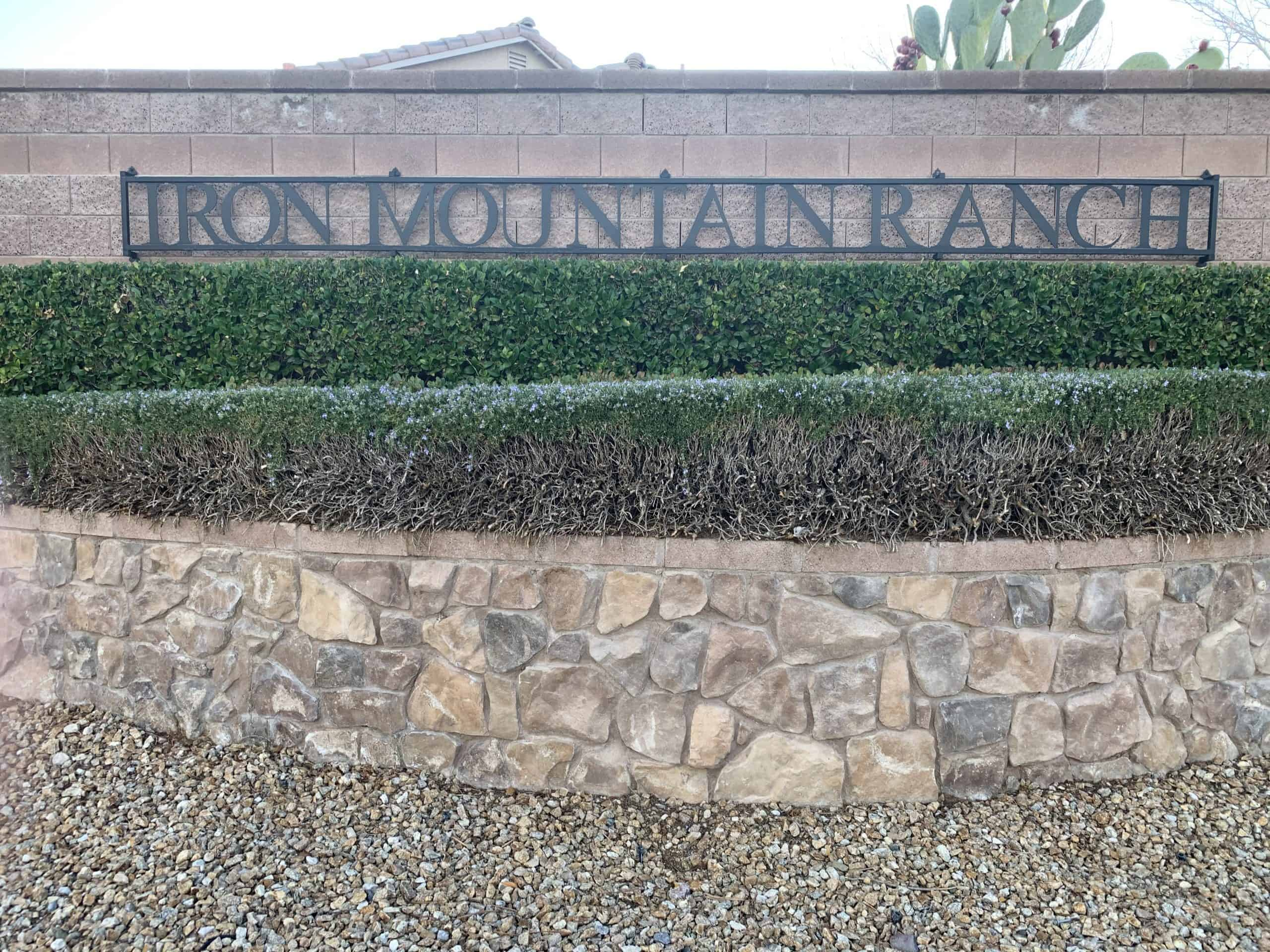 Iron Mountain Ranch Homes For Sale
