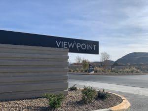 mesa-ridge-view-point-sign